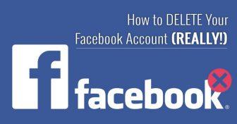 Як ВИДАЛИТИ свій обліковий запис в мережі Facebook